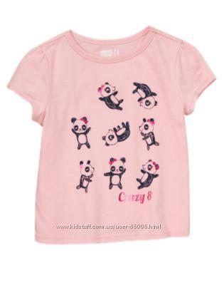 Футболка майка Crazy8 на девочек 3-5лет