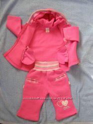 Тепленький костюмчик на девочку от Aziz Bebe