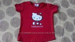 CHEROKEE HELLO KITTY летние футболки девочке  4-7лет