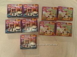 Наборы Lego friends Фокусы Мии, каратэ Эммы, новые
