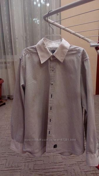 Модная оригинальная рубашка Next 9-10 лет