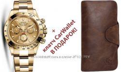 Комплекты портмоне Baellerry Bussines  и элитные модели часов