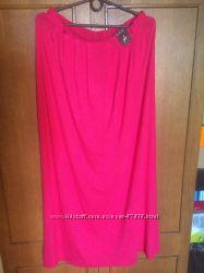 Новая розовая макси юбка Atmosphere, р. 12, можно и на больше размер