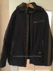 Куртка с подстежкой на пуху размер 56