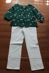 Белые красивые брюки