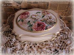 Шкатулка Королевские розы
